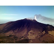 The slopes of Etna Photographic Print