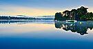 The Cool Light of Daybreak - Ullswater, Cumbria. UK by David Lewins