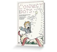 Connect the Dots Greeting Card