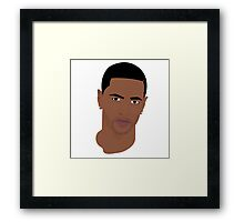Hip Hop Portrait 6 Framed Print