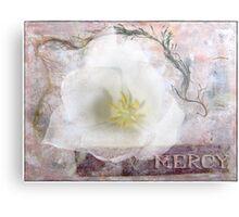 Mercy Canvas Print