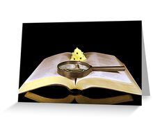 Bible Study Greeting Card