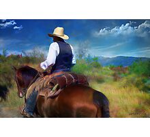 Trail Rider Photographic Print