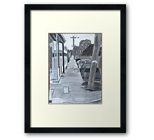Pavement Framed Print