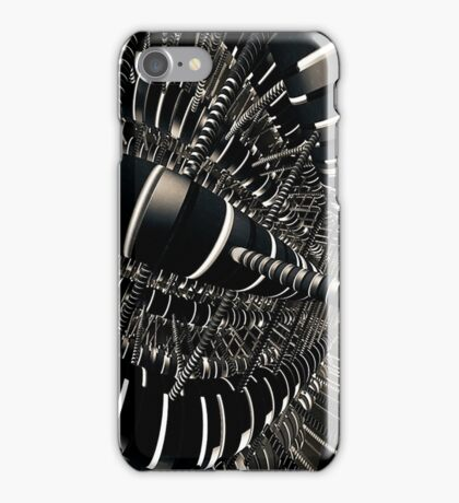 tangled wires iPhone Case/Skin