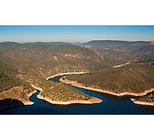 Rio Tejo at Monfrague National Park Photographic Print