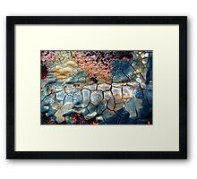 Blue Blazes Framed Print