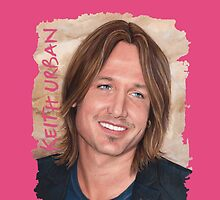 Keith Urban - Australian Country Music Legend 3 by Dacdacgirl