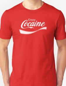 Enjoy Cocaine - Parody T-Shirt