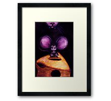 M is for Mouse Framed Print