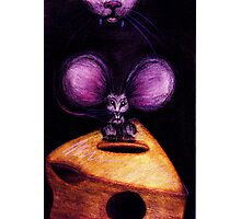 M is for Mouse Photographic Print