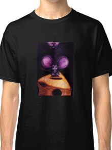 Cat and Mouse on Swiss Cheese Classic T-Shirt