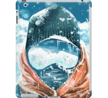 climber in the everest iPad Case/Skin