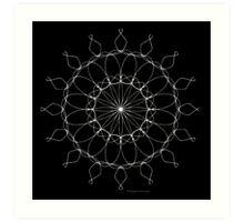 Wiggles - Black - Color Me! Art Print