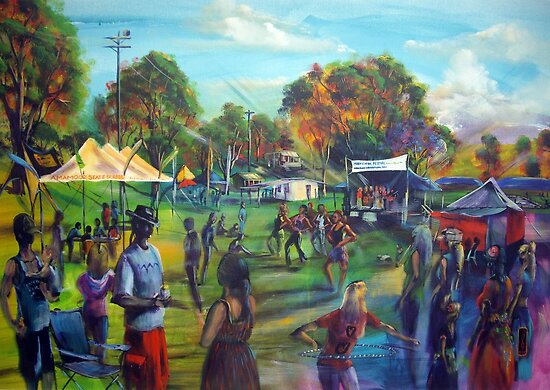 Mary River Festival by tola