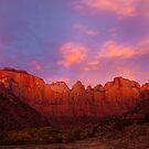 Towers of the Virgin at Sunrise by Nickolay Stanev