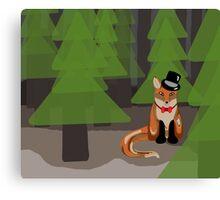 Sir Fox Canvas Print