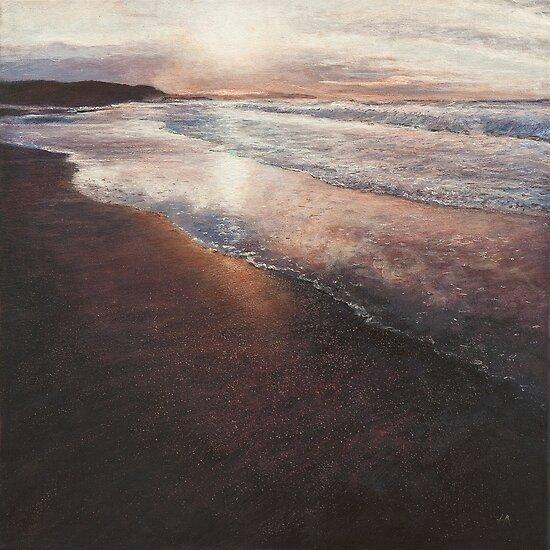 an evening at Eoropie, Isle of Lewis by Helen Suzanne Sharratt