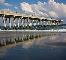Wrightsville Beach Pier, North Carolina by Alison Simpson