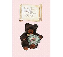 This One's for You ~ Baby Bear Photographic Print