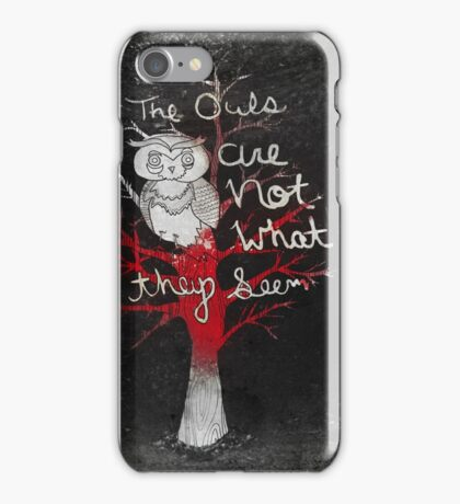 Not What They Seem iPhone Case/Skin