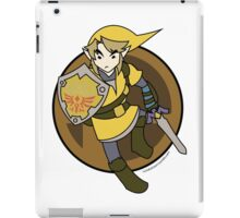 Smash Brothers Yellow Link iPad Case/Skin