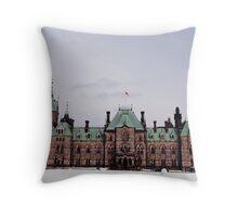 Parliament House, Ottawa Throw Pillow