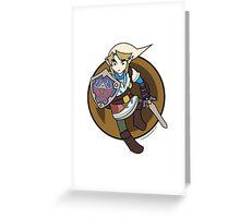 Smash Brothers Skyward Link Greeting Card