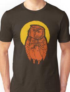 Owl Moon Linocut (dark tee) T-Shirt