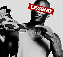 Legend - J6 Carmines by tee4daily