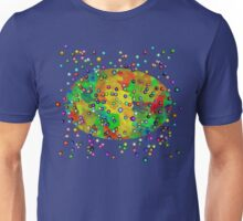 Abstract - He Spoke And It All Came Together Unisex T-Shirt