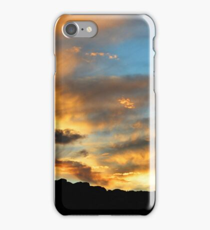 Clouds Of Liquid Gold iPhone Case/Skin