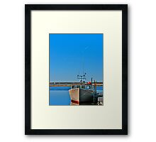 Cape Sable Island, By Sea and By Air Framed Print