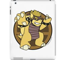 Smash Brothers Gold Bowser iPad Case/Skin