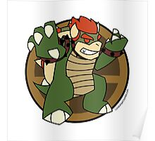Smash Brothers Green Bowser Poster