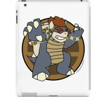 Smash Brothers Grey Bowser iPad Case/Skin