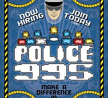 Blade Runner Police 995 Recruitment Poster by Brett Gilbert