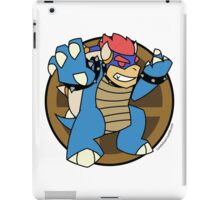 Smash Brothers Blue Bowser iPad Case/Skin