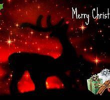 Santas Reindeer ©  by Dawn M. Becker