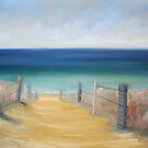 Greenhills beach, Cronulla by Tash  Luedi Art