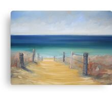 Greenhills beach, Cronulla Canvas Print