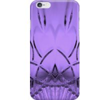 Cut Glass Mauve iPhone Case/Skin