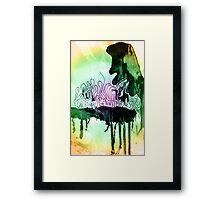 creativity | genius | madness Framed Print
