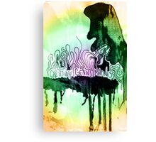 creativity | genius | madness Canvas Print