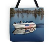 Captain America and First Mate Tote Bag