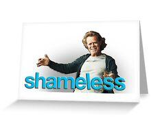 Shameless: Frank Gallagher Greeting Card