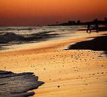 Sunset, Atlantic Beach, November 2009 by Alison Simpson