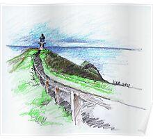 Cape Reinga Lighthouse Poster