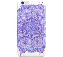 Watercolour Mandala Purple iPhone Case/Skin