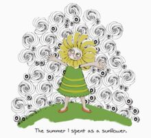 The summer I spent as a sunflower by Belin